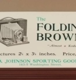 Folding Brownie Camera