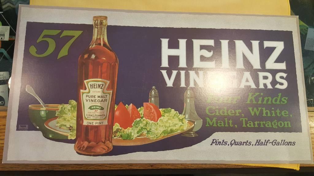 Heinze Vinegars. 1 Bottle