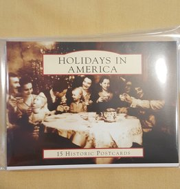 Holidays In America Historic Postcard Set (15)