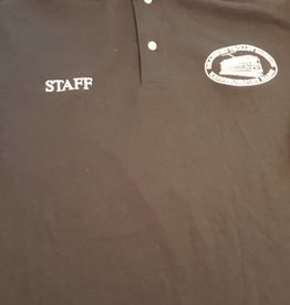 "STM ""Staff"" Black Polo  XL"