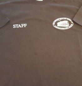 """STM """"Staff"""" Black T-Shirt XXL"""