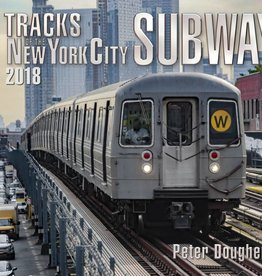 Tracks of the New York City Subway 2018