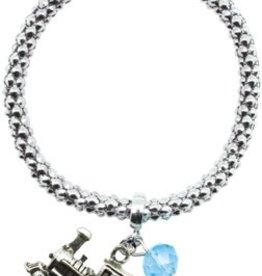 Metal Rope Train Bracelet