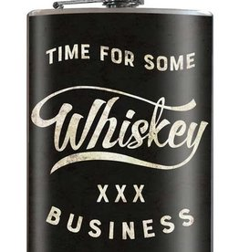 Time for Some Whiskey Flask