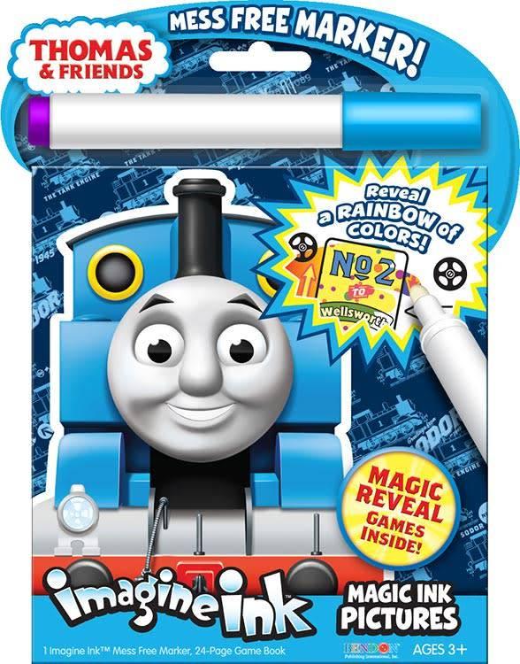 Thomas Imagine Ink Magic Ink Pictures