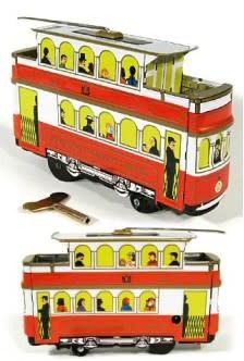 Hong Kong Tramcar Tin Toy 1904
