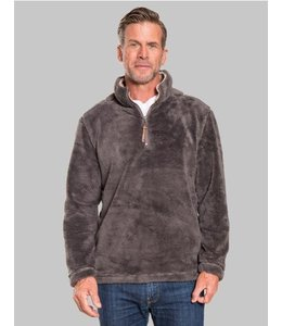 True Grit Pebble Pile 1/2 Zip Pullover