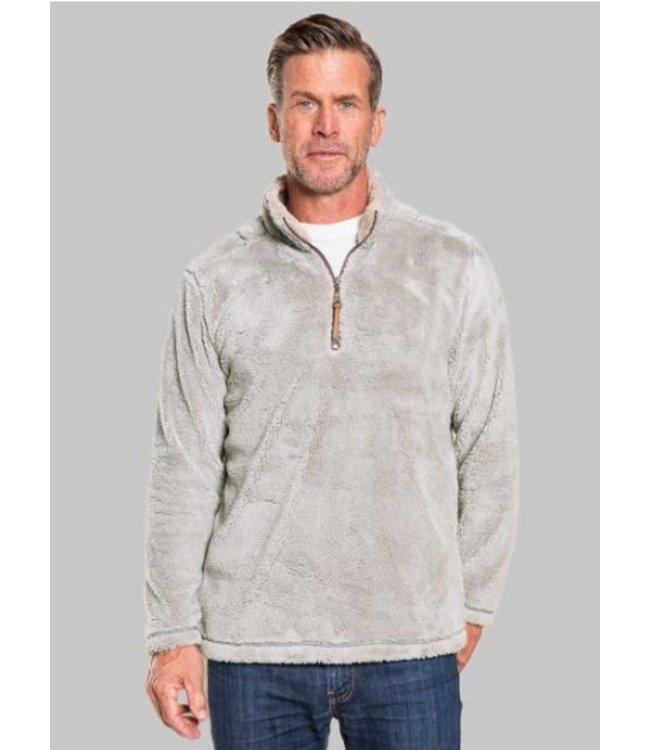 True Grit Pebble Pile 1/2 Zip Pullover