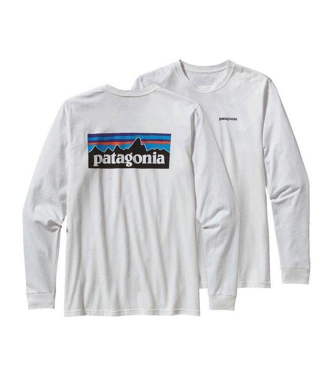 Patagonia M's L/S P-6 Logo Cotton T-Shirt