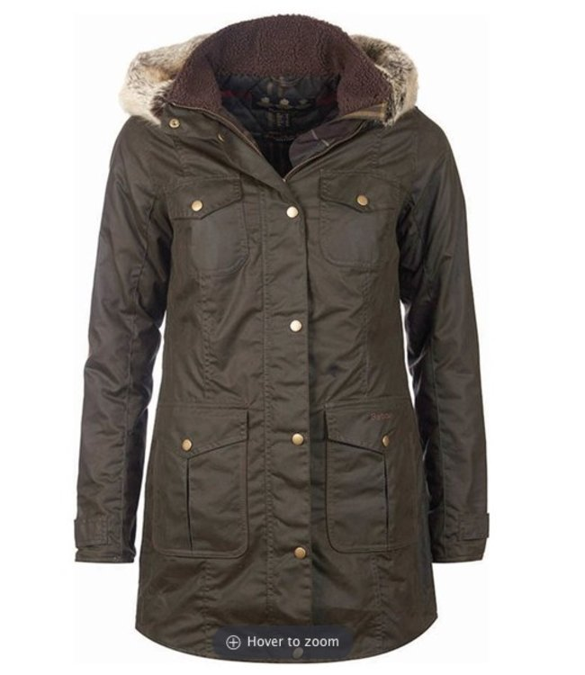 Barbour W's Ashbridge Wax Jacket