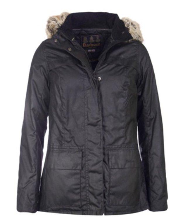Barbour W'S Ellen Wax Jacket