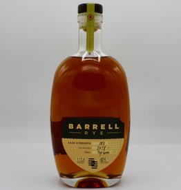 Barrell Craft Spirits Rye Whiskey Batch No. 1 117 Proof
