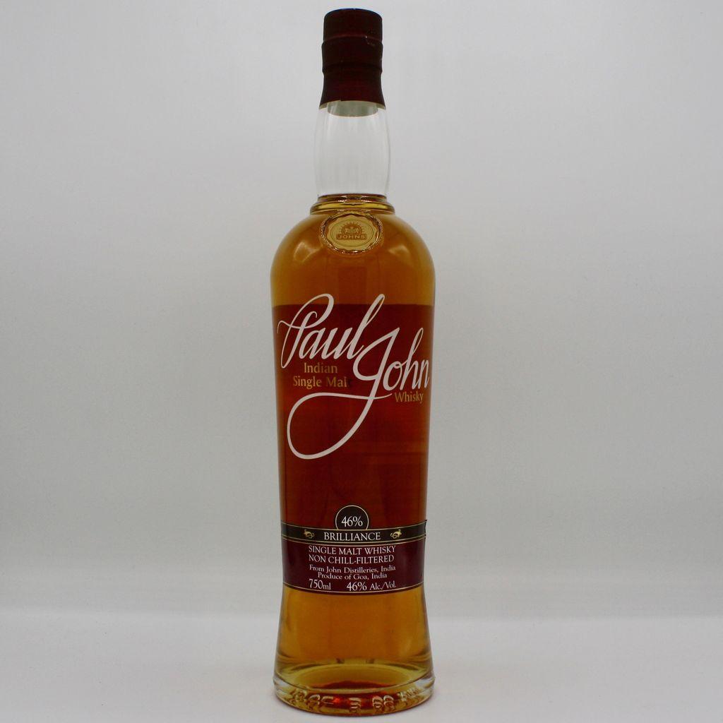 Paul John Brilliance Indian Single Malt Whisky