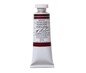 M. GRAHAM M. GRAHAM WATERCOLOUR 15ML MAROON PERYLENE