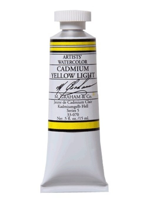 M. GRAHAM WATERCOLOUR 15ML CADMIUM YELLOW LIGHT