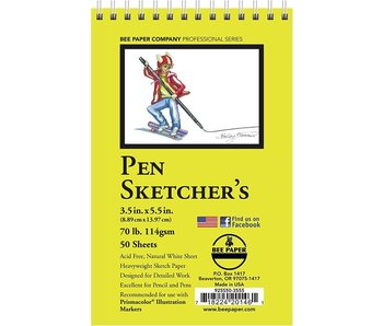 BEE PAPER PEN SKETCHER'S PAD 3.5x5.5