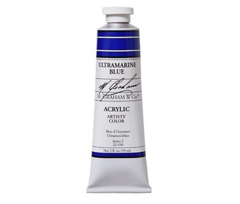 M. GRAHAM M. GRAHAM ARTISTS ACRYLIC 5OZ ULTRAMARINE BLUE