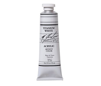 M. GRAHAM M. GRAHAM ARTISTS ACRYLIC 150ML TITANIUM WHITE