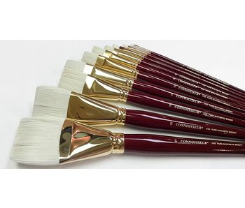 CONNOISSEUR PURE SYNTHETIC LH BRUSH BRIGHT #8