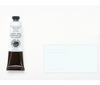 DANIEL SMITH WATER SOLUBLE OIL 37ML TITANIUM WHITE