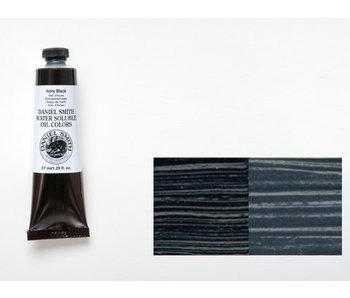 DANIEL SMITH WATER SOLUBLE OIL 37ML IVORY BLACK