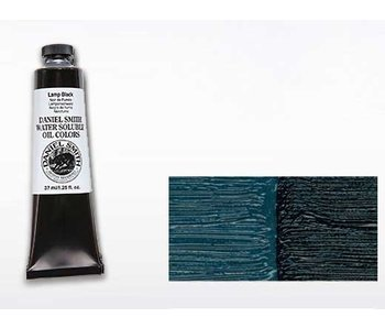 DANIEL SMITH WATER SOLUBLE OIL 37ML LAMP BLACK