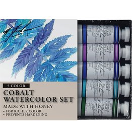 ART 5PK SET: COBALT