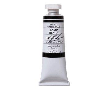 M. GRAHAM M. GRAHAM WATERCOLOUR 15ML LAMP BLACK
