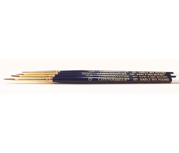 CONNOISSEUR SABLE MIX BRUSH ROUND #0