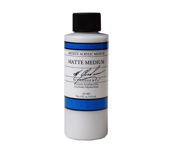 M. GRAHAM M. GRAHAM ACRYLIC MATTE MEDIUM 4OZ