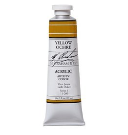 ART YELLOW OCHRE 5OZ