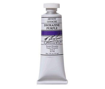 M. GRAHAM M. GRAHAM ARTISTS' GOUACHE 15ML DIOXAZINE PURPLE