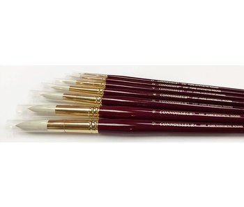 CONNOISSEUR PURE SYNTHETIC LH BRUSH ROUND #8