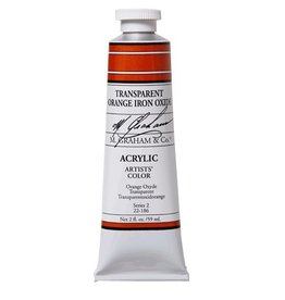 ART TRNSPARENT ORANGE IRON OXIDE 2OZ