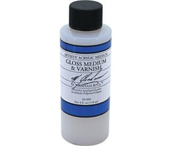 M. GRAHAM M. GRAHAM ACRYLIC GLOSS MEDIUM & VARNISH 4OZ