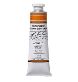 ART TRANSPARENT YELLOW IRON OXIDE 2OZ