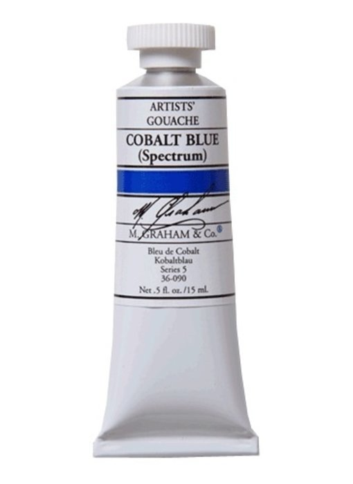 M. GRAHAM ARTISTS' GOUACHE 15ML COBALT BLUE (SPECTRUM)