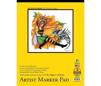 BEE PAPER ARTIST MARKER PAD MANGA 11x14