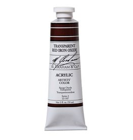 ART TRANSPARENT RED IRON OXIDE 2OZ