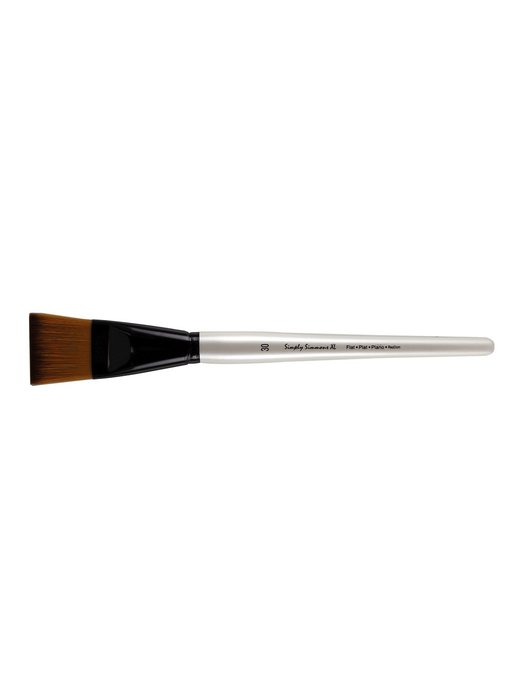 SIMPLY SIMMONS XL SYNTHETIC SOFT BRUSH FLAT 30