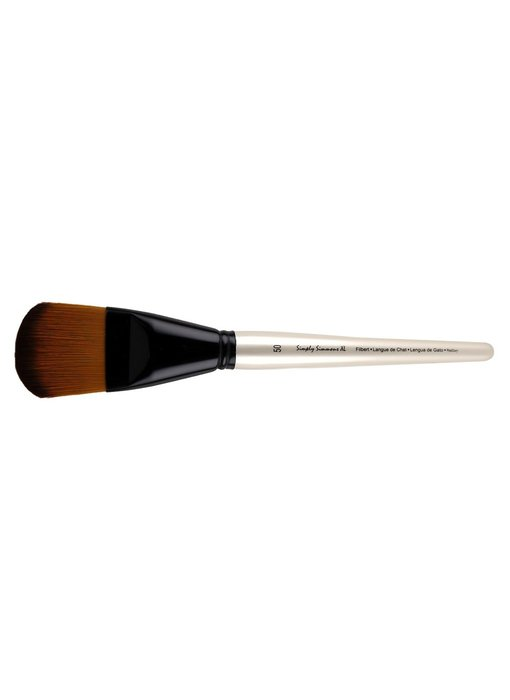 SIMPLY SIMMONS XL SYNTHETIC SOFT BRUSH FILBERT 50