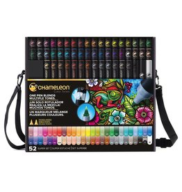 ART CHAMELEON BRUSH PEN SET 52PK SUPER SET