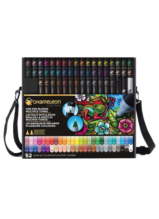 CHAMELEON BRUSH PEN SET 52PK SUPER SET Bulk Buyer see notes