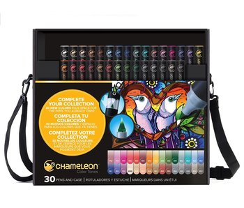 CHAMELEON CHAMELEON BRUSH PEN SET 30PK PEN & CASE