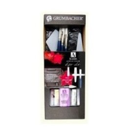 ART GRUMBACHER MAX PRE-TESTED OIL GIFT SET W/ MESSENGER BAG