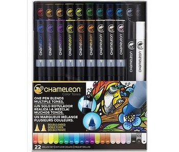 CHAMELEON CHAMELEON BRUSH PEN SET 22PK DELUXE