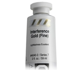 GOLDEN 2OZ INTERFERENCE GOLD (FINE) HB SERIES 7