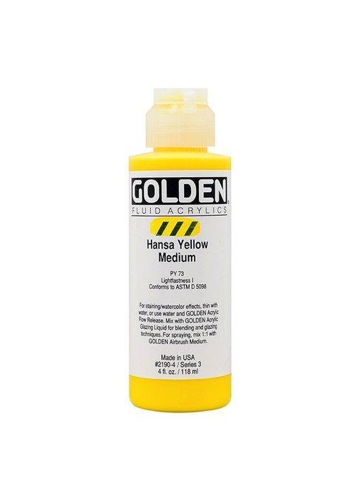 GOLDEN 4OZ FLUID HANSA YELLOW MEDIUM SERIES 3