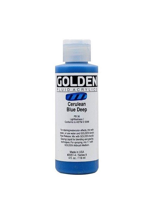 GOLDEN 4OZ FLUID CERULEAN BLUE DEEP SERIES 9