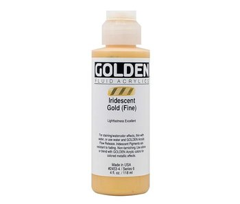 GOLDEN 4OZ FLUID IRIDESCENT GOLD (FINE) SERIES 6